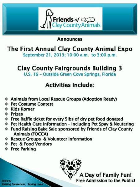 clay county animal expo