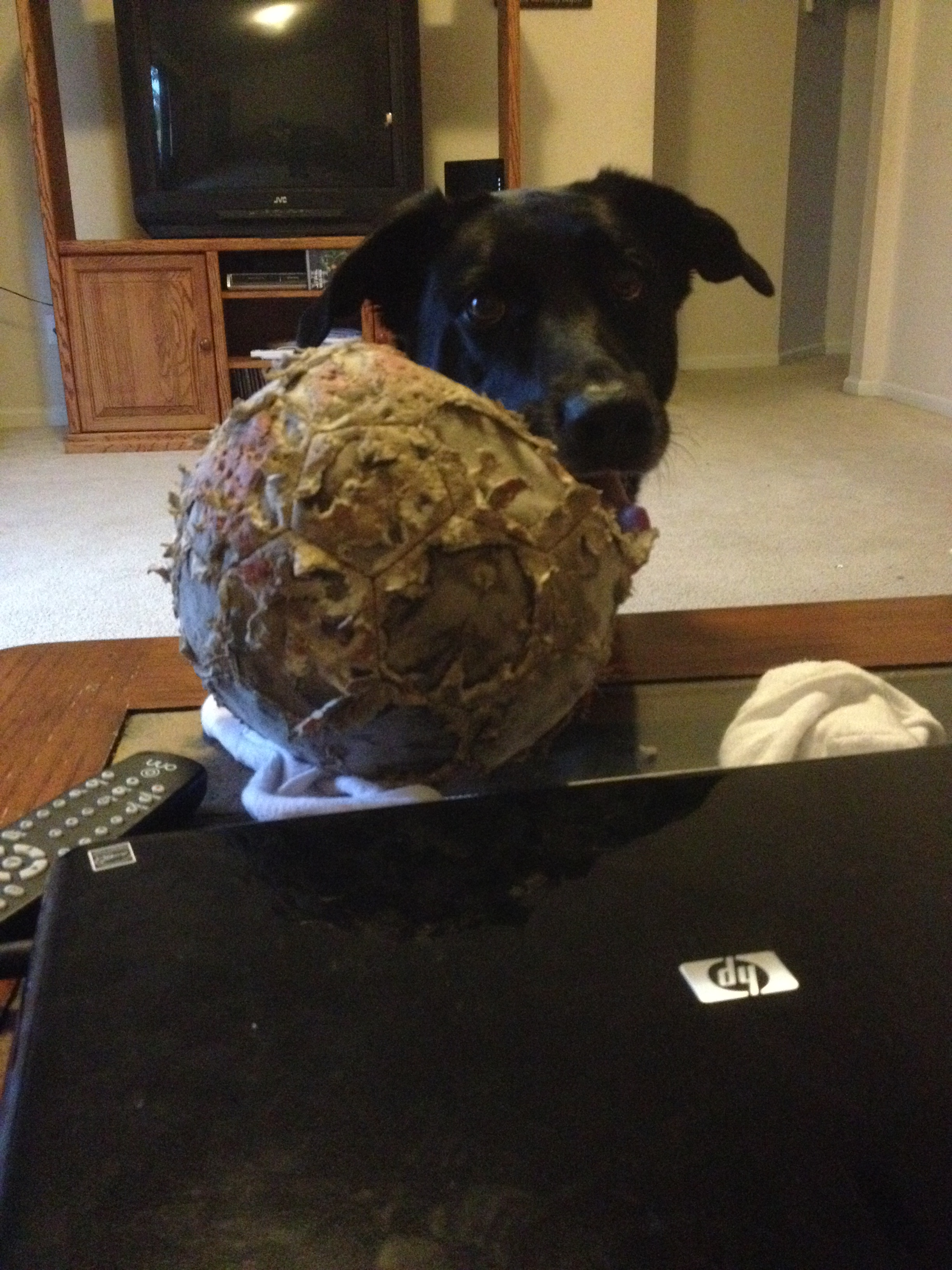 Bud with ball