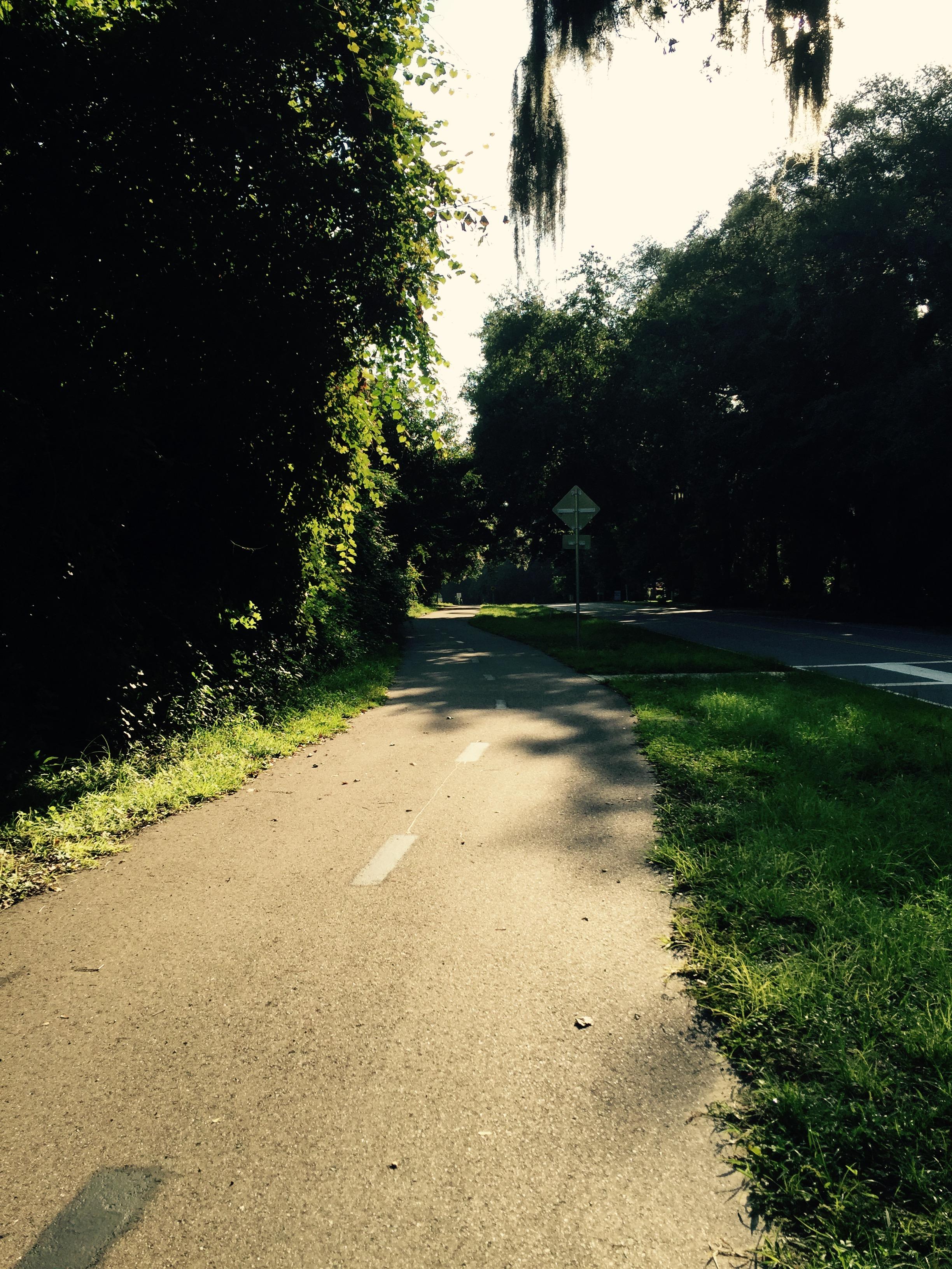 Drs lake bike path